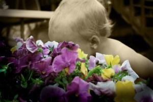 motherhood baby flowers